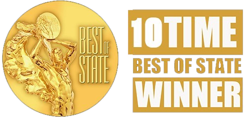 Best of State Award 10 Time Winner